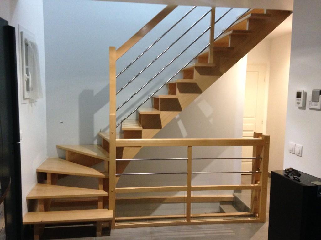 Escalier bois et Metal (3)
